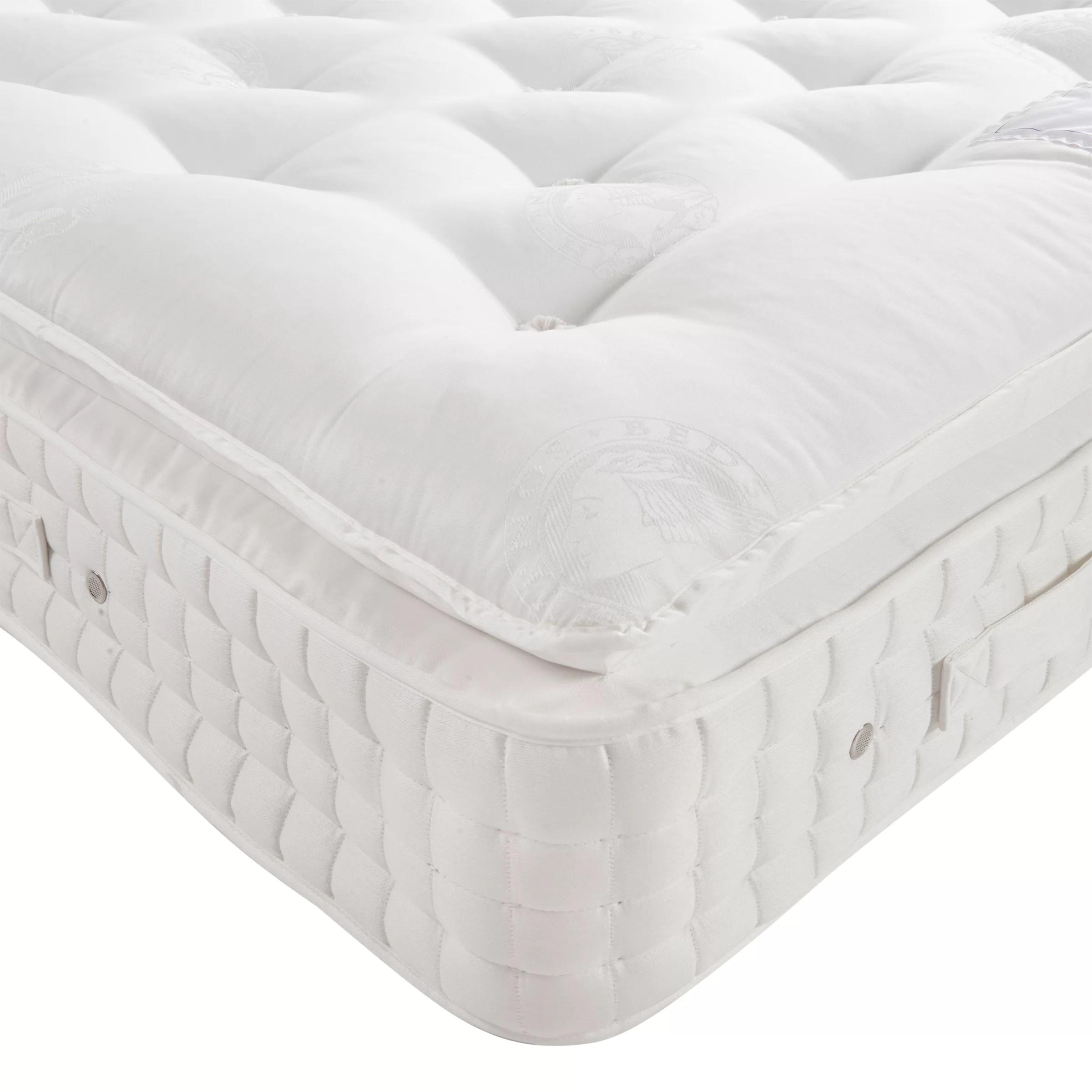 hypnos sublime pillowtop pocket spring mattress medium tension super king size
