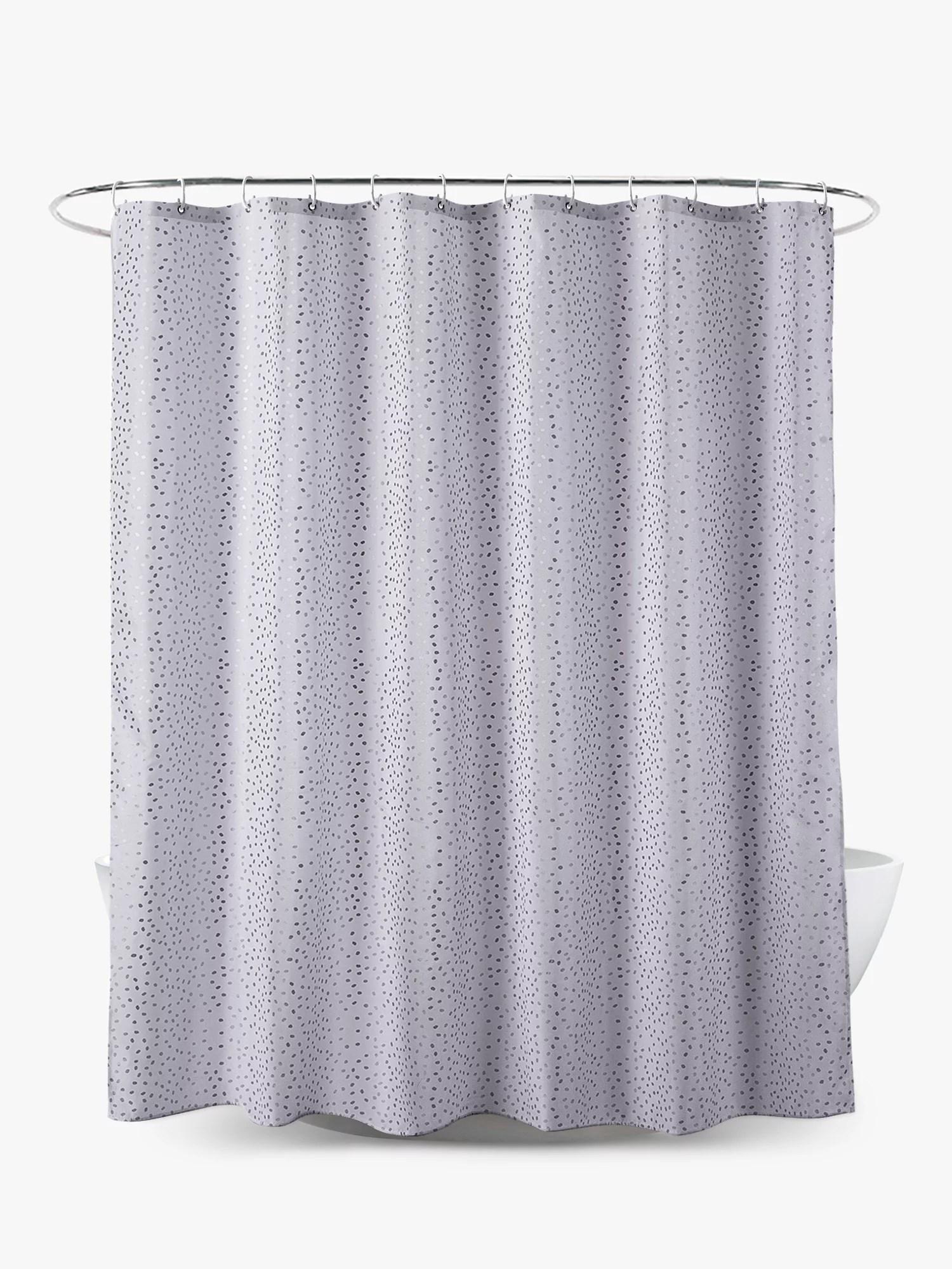 john lewis partners shimmering spots shower curtain