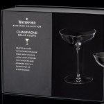 Waterford Elegance Crystal Champagne Coupe Glasses 230ml Set Of 2 Clear At John Lewis Partners