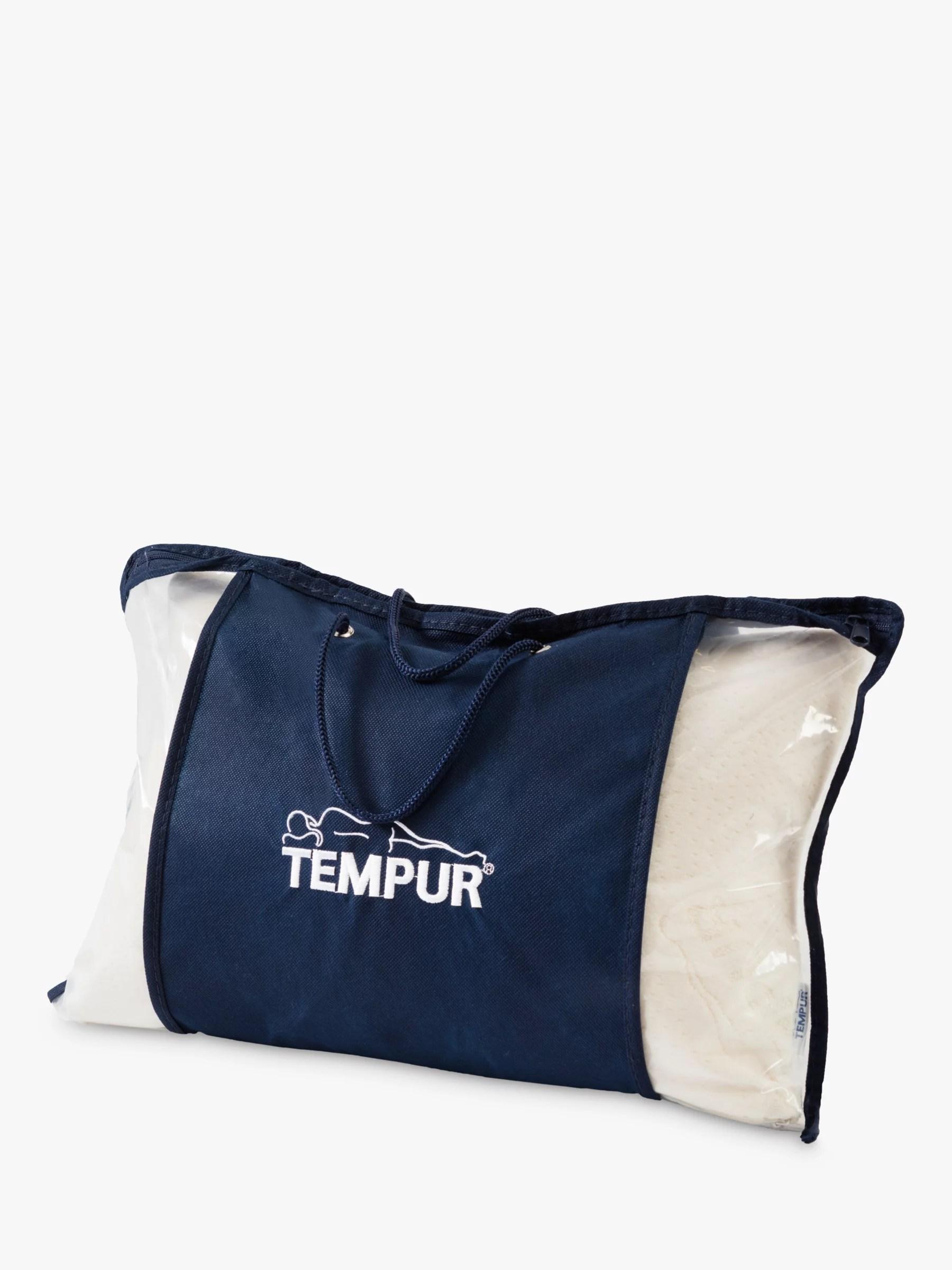 tempur comfort travel pillow medium firm