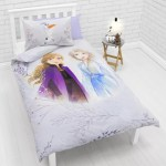 Disney Frozen 2 Reversible Duvet Cover And Pillowcase Set Single Multi At John Lewis Partners