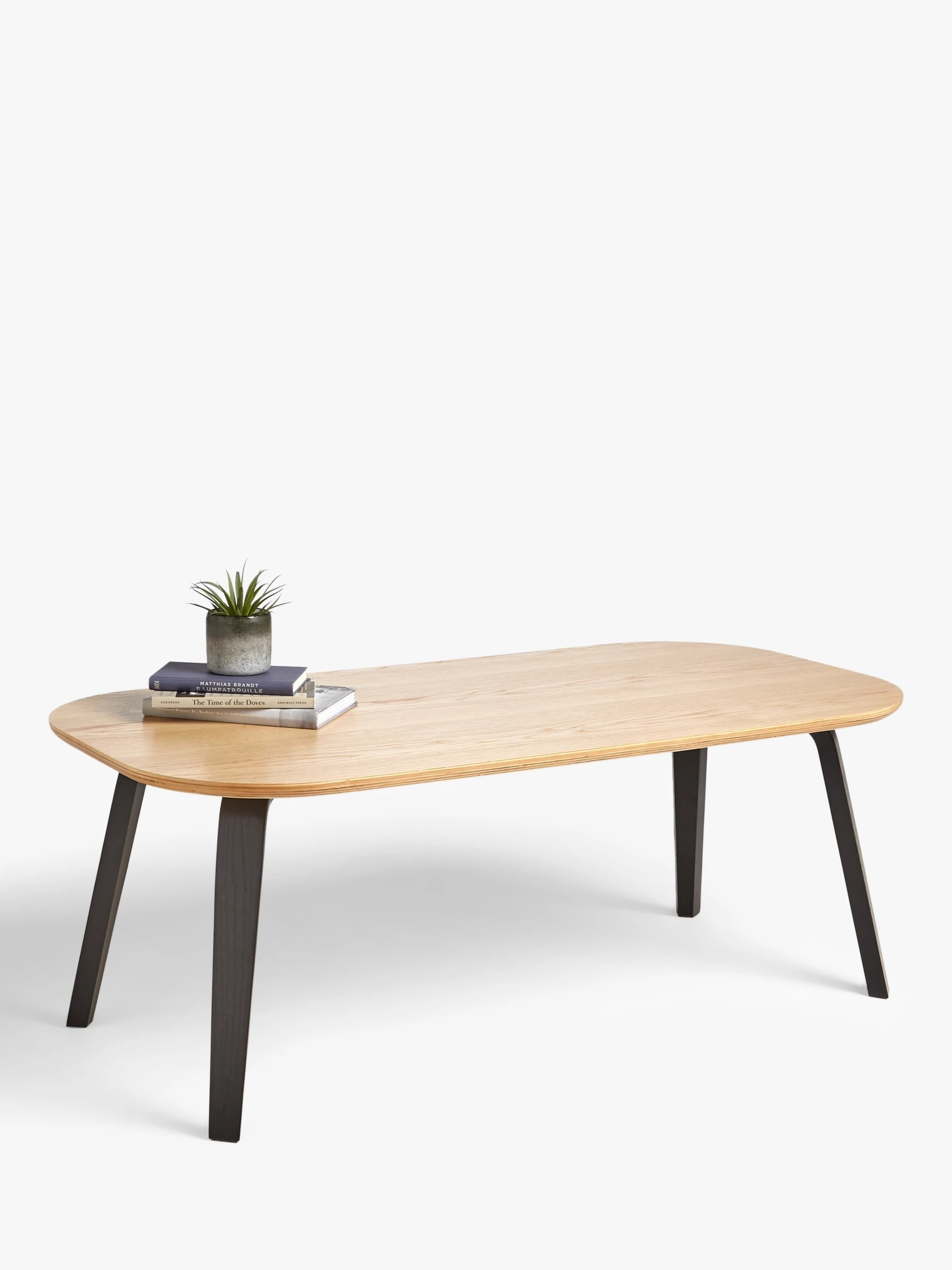 house by john lewis anton coffee table natural black