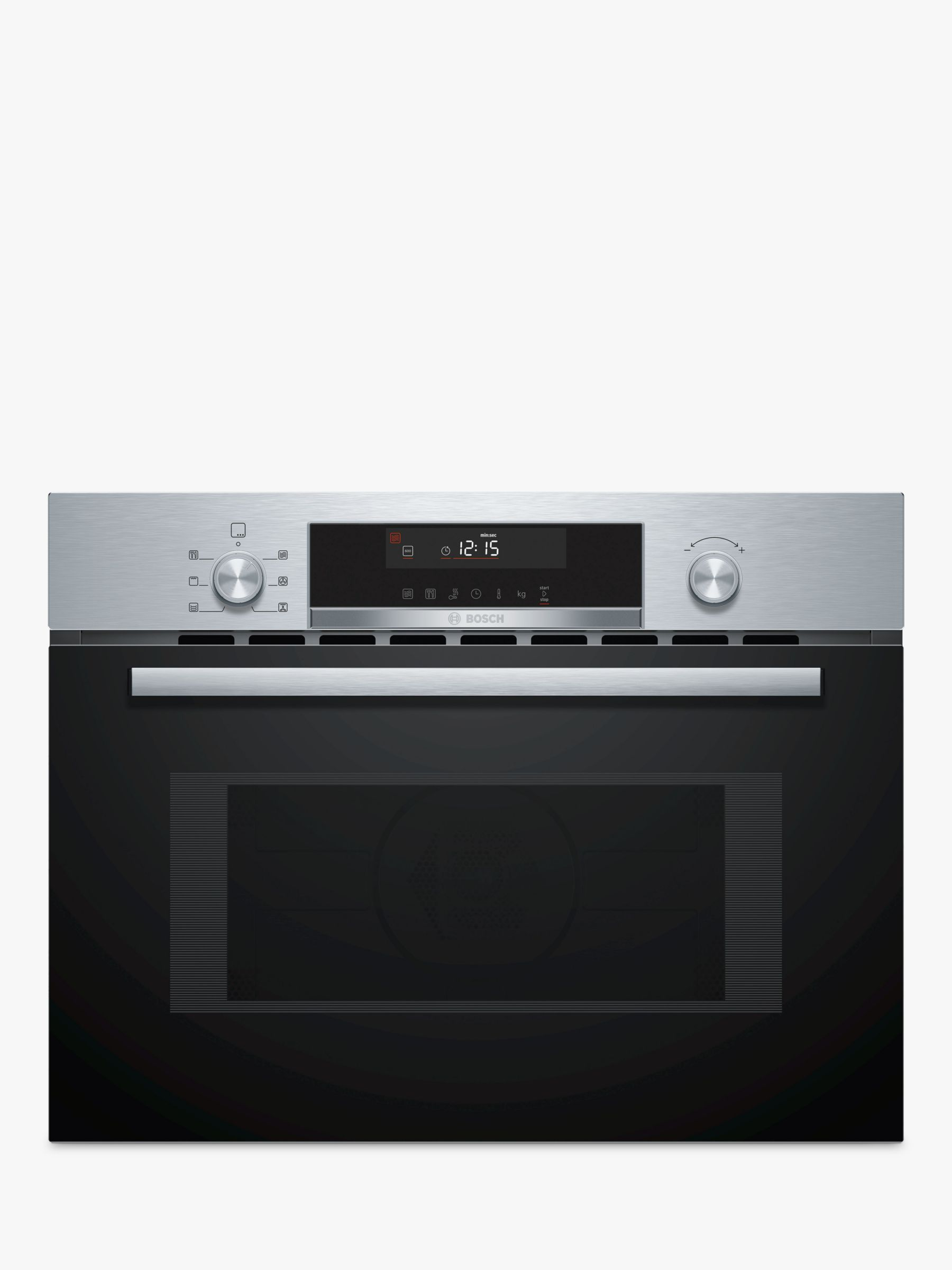 bosch serie 6 cma585gs0b built in combination microwave oven stainless steel