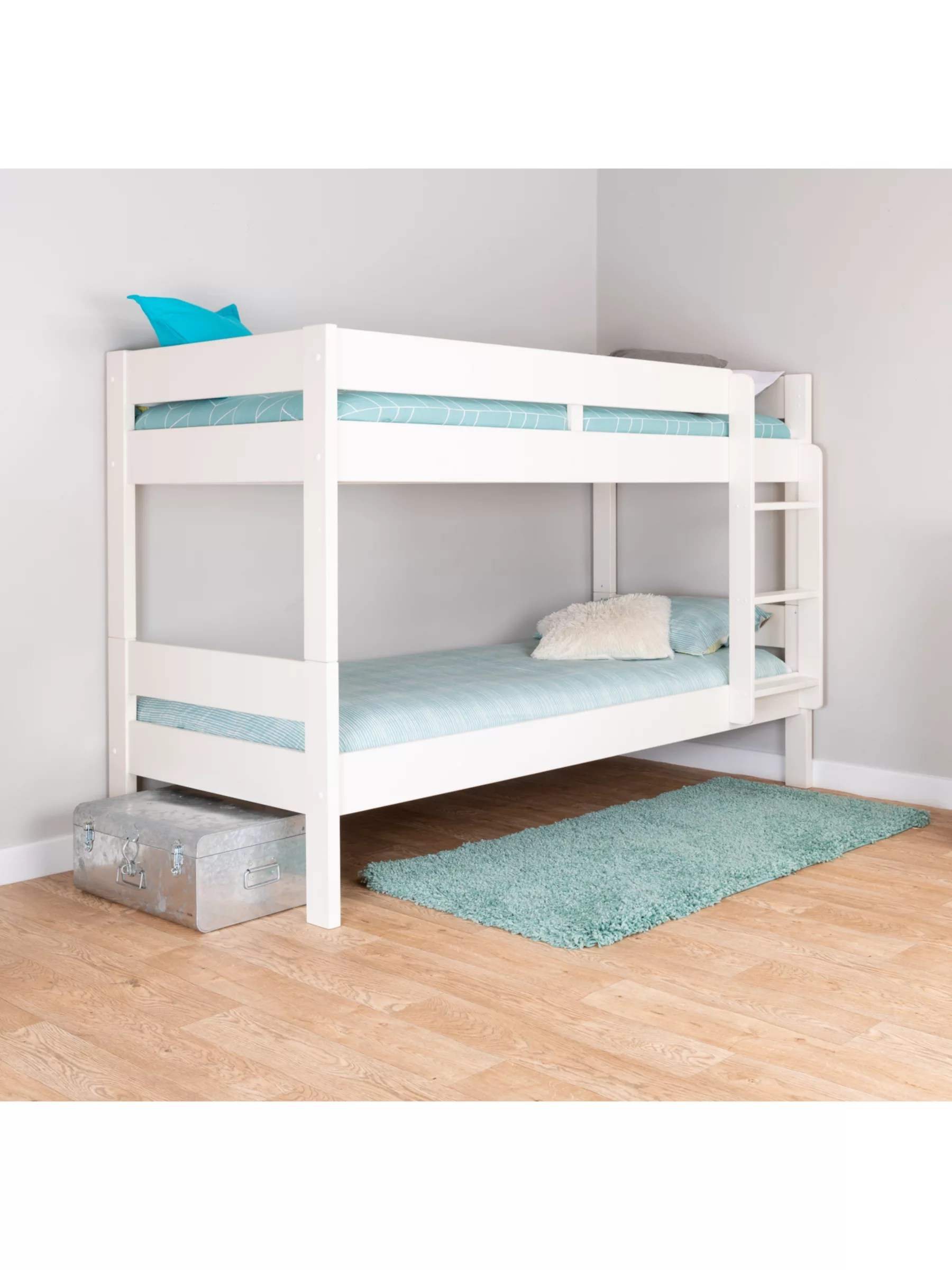 Stompa Compact Detachable Bunk Bed Single White At John Lewis Partners