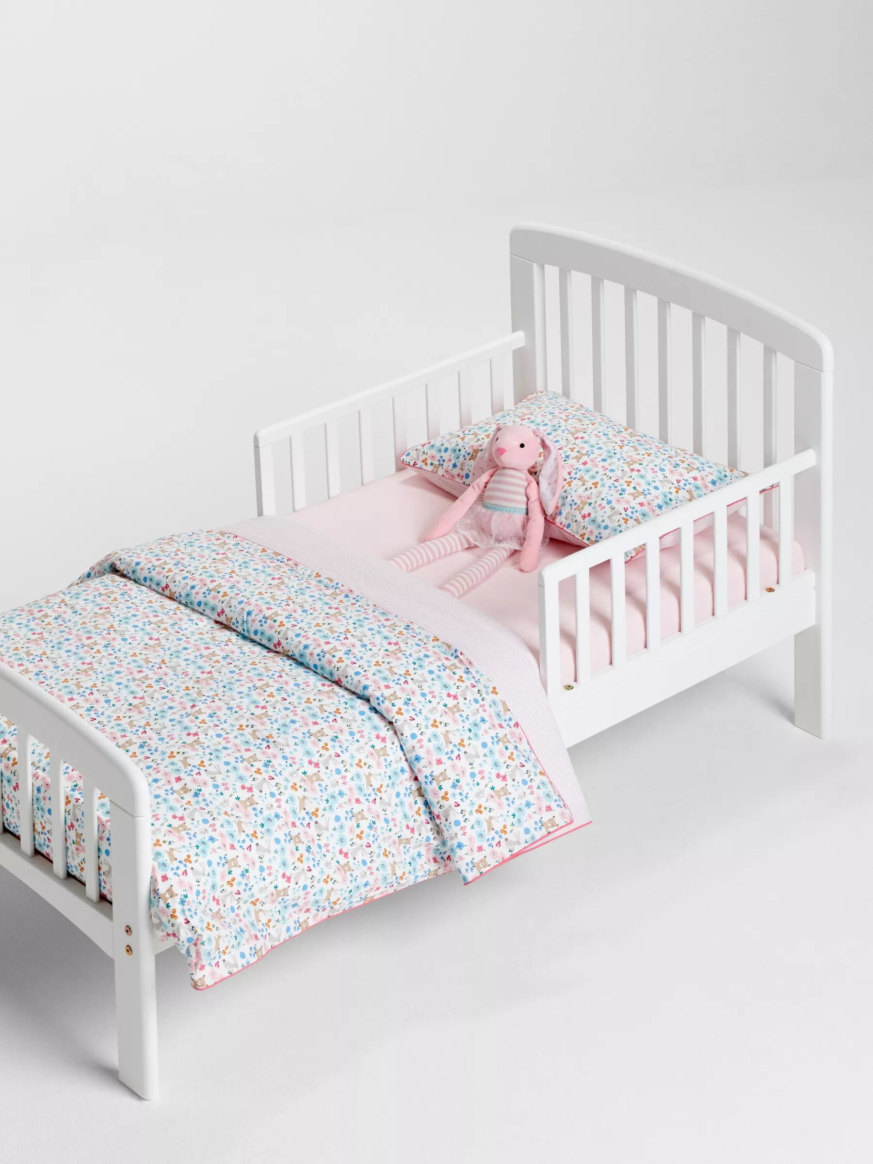 John Lewis Partners Anna Junior And Toddler Bed White At John Lewis Partners