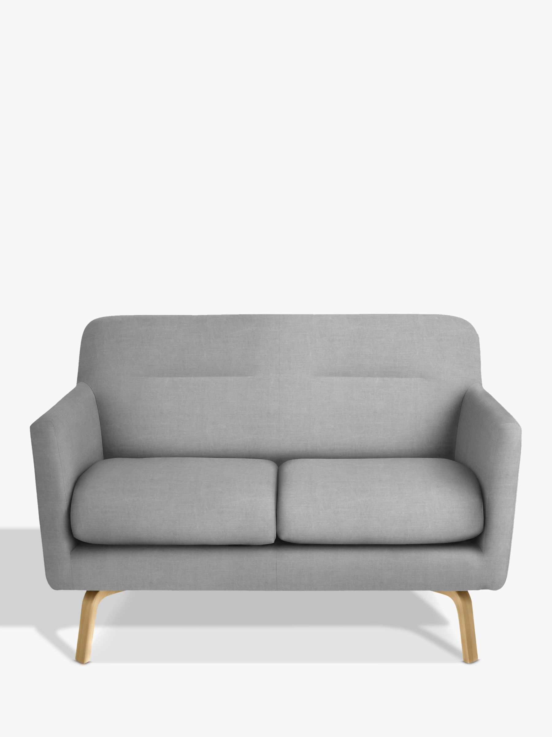 House by John Lewis Archie Small 2 Seater Sofa  Light Leg  Saga Grey         BuyHouse by John Lewis Archie Small 2 Seater Sofa  Light Leg  Saga Grey  Online