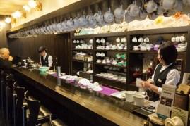 Binya cafe at Ebisu