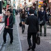Takeshita Street on a weekday - pic 1