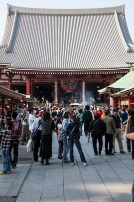 Sensoji Temple - main entrance