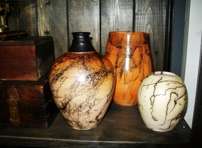 Writing Alchemy Lab - One of my favorite things in all the world: Horse-hair Raku