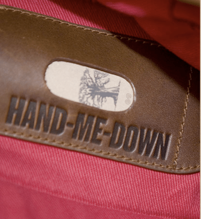 Howies 'Hand me down' Messenger Bag