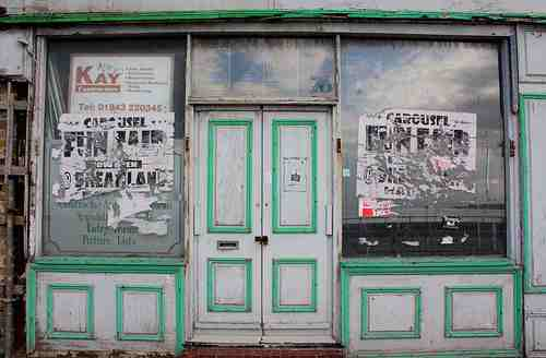 Empty shop in Margate - A chance for the independents