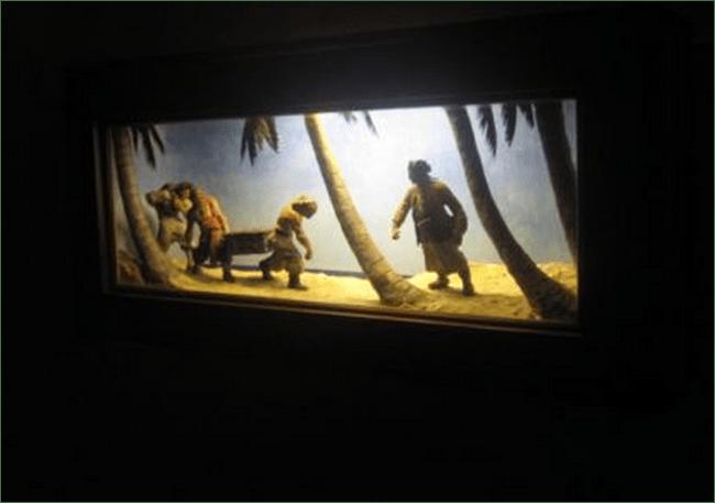 Dwight Franklin diorama 1933 eBay listing