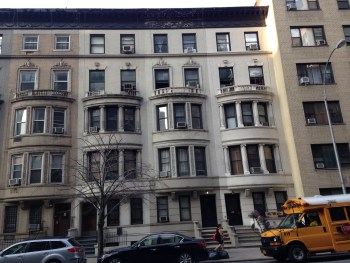 Isabel's childhood home, 40 West 96th St., NYC