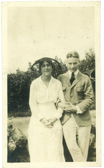 Roberta Becker and Redmond Farrar 1915