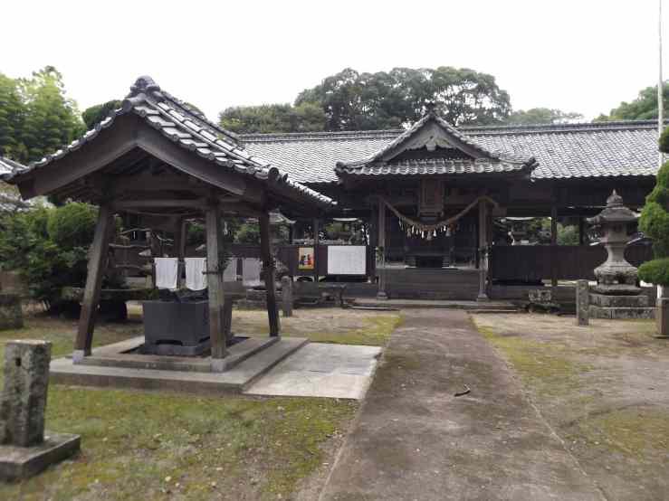 old shrine kunisaki photo