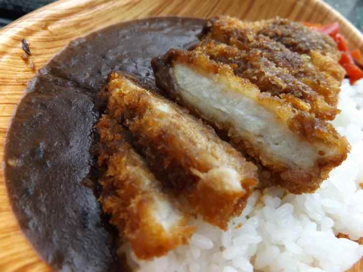 pork cutlet curry photo