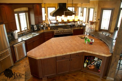 Large Kitchen Island in Bremen, Indiana
