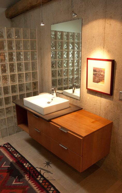 Modern Concrete Bathroom Sink in Goshen, Indiana