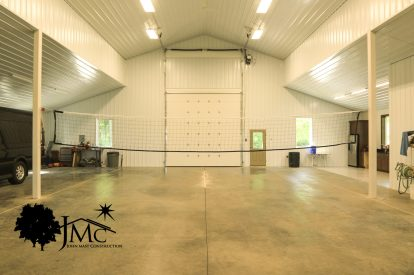 Volleyball Shed in Goshen, Indiana