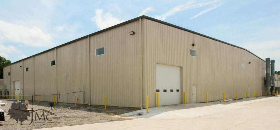 Steel building in Nappanee, Indiana