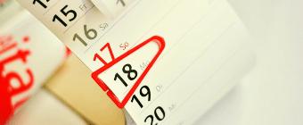 thin calendar