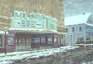 Del Oro Snow - Archival Digital Print - 14 x 19 inches