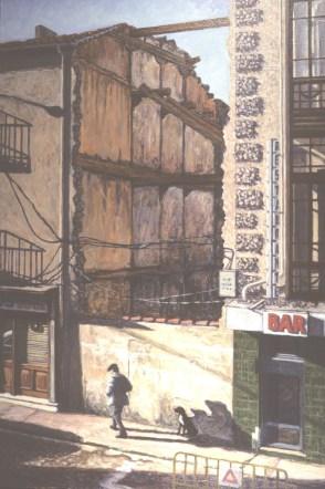 The Walker, Soria - Oil/canvas - 21 x 31 inches