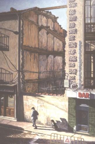 The Walker, Soria - Oil/canvas 21 x 31 inches