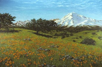 California Spring - Oil/canvas - 48 x 72 inches