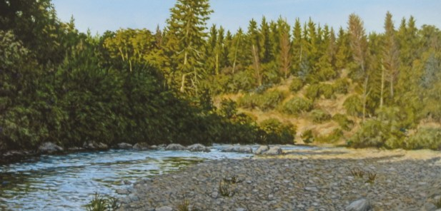 Bear River Canyon 2 - Archival Digital Print - 10 x 22 inches