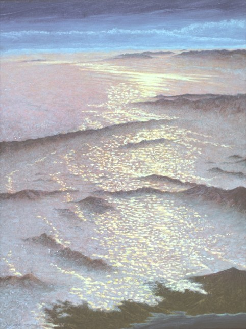 Ocean - Oil/canvas - 36 x 48 inches