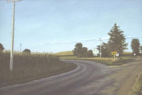 Crossroads - Oil/canvas - 30 x 60 inches