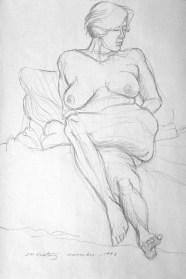 Amelia 2 - Pencil/paper - 15 x 20 inches