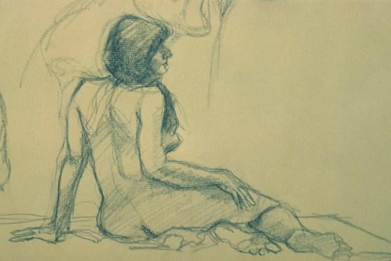 Brenda 2 - Pencil/paper - 10 x 16 inches