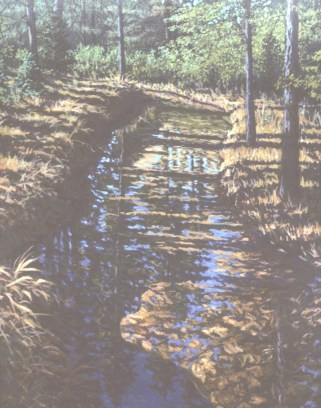 Ripley Creek - Acrylic/canvas - 38 x 48 inches