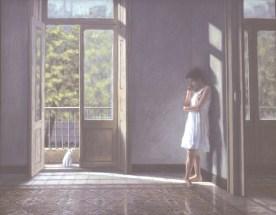 La Bailarina (The Dancer) - Oil/canvas - 32 x 40 inches