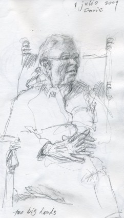 Doris - Pencil/paper - 5 x 8 inches