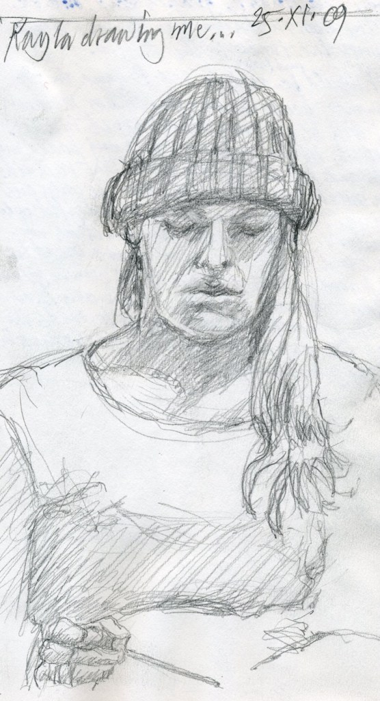 Kayla - Pencil/paper - 5 x 8 inches