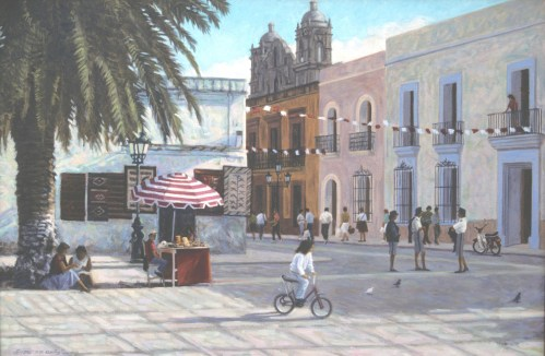 Oaxaca - Oil/canvas - 24 x 36 inches