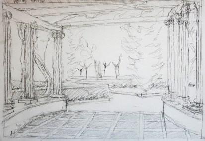 Viveros 1 - Pencil/paper - 7 x 10 inches