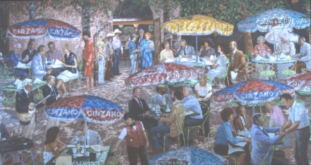 Kirt's People - Acrylic/canvas - 68 x 118 inches
