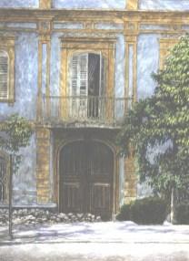 La Mirada - Watercolor - 21 x 29 inches