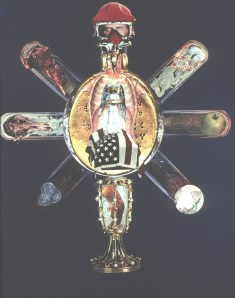Monstrance - Collage - 18 x 24 inches