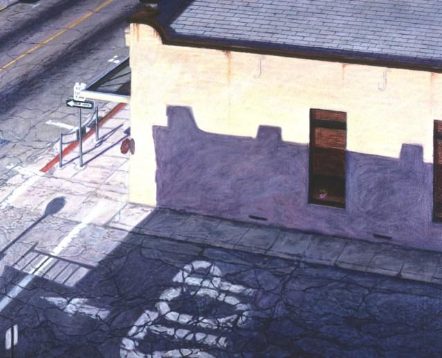 North Church Street - Oil/canvas - 26 x 32 inches