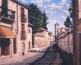Sol y Sombra - Acrylic/canvas - 32 x 40 inches