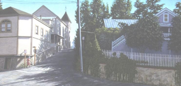 Spring Street - Archival Digital Print - 13 x 17 inches