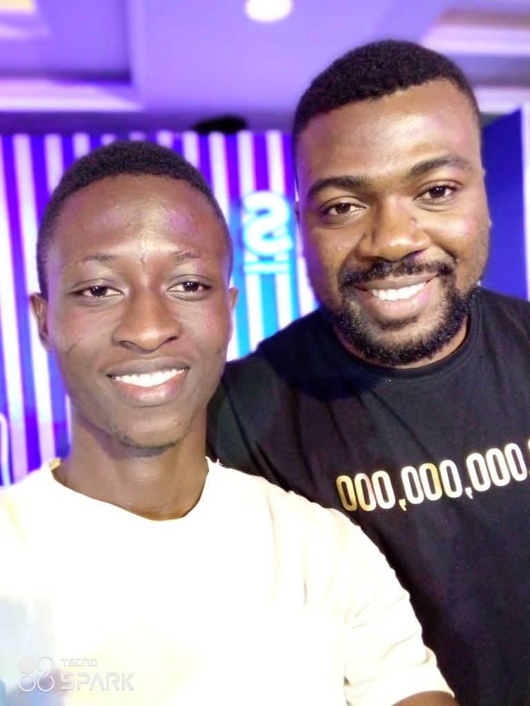 Me with The Prince of Copywriting (Emmanuel Akpe)