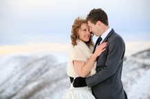 Bride & Groom at Mt Hotham