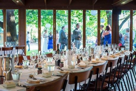 Wedding Reception at Brown Brothers Winery